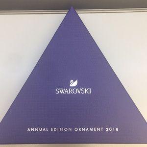 Swarovski 2018 annual ornament